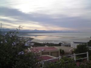 Lagoon and river mouth at dawn